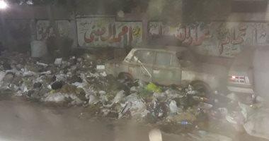 قارئ يشكو من تراكم القمامة بشارع عزت باشا بالمطرية