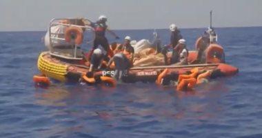 فيديو.. إنقاذ 507 مهاجرا فى البحر المتوسط ودول أوربية ترفض استقبالهم