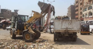 الجيزة ترفع 35 ألف طن مخلفات أضاحى وقمامة خلال العيد -