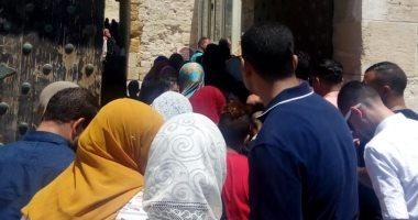 صور.. قلعة قايتباى قبلة المحتفلين بعيد الأضحى المبارك