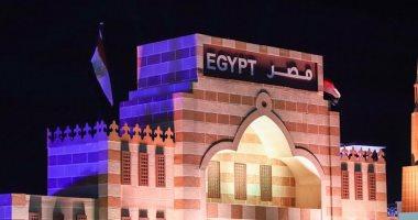 جناح التراث المصرى يجذب عدد كبير من الزائرين بسوق عكاظ بالطائف
