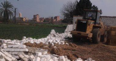 صور.. إزالات فورية لـ 275 حالة تعدى على الأراضى الزراعية خلال إجازة عيد الأضحى