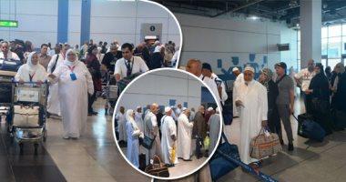 مطار القاهرة يستقبل اليوم 18 رحلة جوية لعودة الحجاج من الأراضى المقدسة