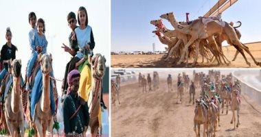 الهجن المصرية تحقق 3 مراكز جديدة فى سباق ولى العهد بالسعودية