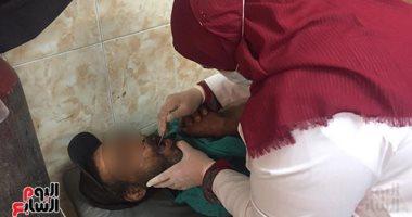 """استجابة لـ""""اليوم السابع"""".. نقل مريض الإيدز ضحية مستشفى كفر الزيات لحميات طنطا.. فيديو"""