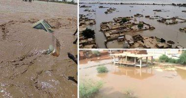 جسر جوى لإيصال مساعدات للمتضررين من السيول فى النيل الأبيض بالسودان