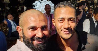 """أحمد سعد ينشر  سيلفى يجمعه مع محمد رمضان.. ويعلق: """"صديقى العزيز"""""""