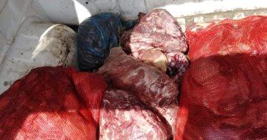 تموين الإسكندرية يضبط 550 كيلو لحوم غير صالحة للاستهلاك الأدمى