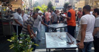 رئيس حى المنتزة: إغلاق المطعم السورى لعدم استيفاء شروط السلامة