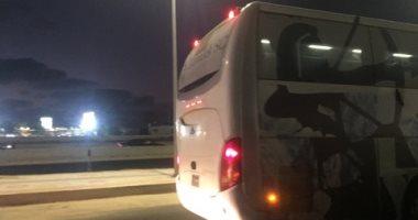 صور.. الزمالك يصل ملعب برج العرب استعدادًا لمواجهة ديكاداها