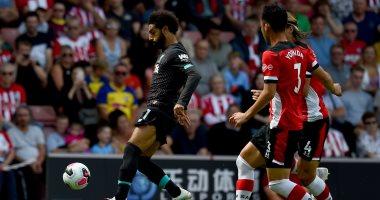 محمد صلاح يكتفي بـ 78 دقيقة في مباراة ساوثهامبتون ضد ليفربول
