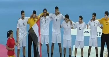 45 دقيقة.. مصر تتقدم على البرتغال 31 / 24  فى نصف نهائى المونديال
