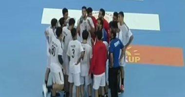 الشوط الأول.. مصر 20  - 19 البرتغال فى نصف نهائى مونديال اليد
