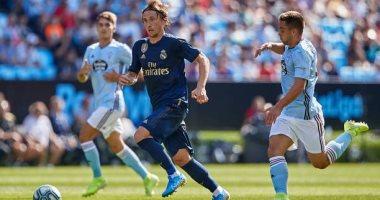سلتا فيجو ضد ريال مدريد.. مودريتش يسجل أول حالة طرد بالدوري الإسباني