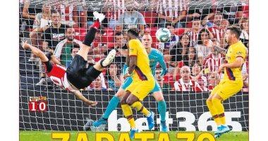"""""""مقصية"""" أدوريز ضد برشلونة حديث الصحافة الإسبانية.. صور"""