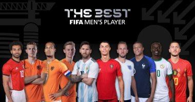 المرشحون للفوز بجائزة أفضل لاعب في العالم من الفيفا