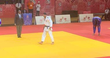 رمضان درويش يحقق ذهبية الجودو فى دورة الألعاب الأفريقية