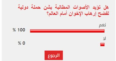 القراء يجمعون على ضرورة شن حملة دولية لفضح إرهاب الإخوان أمام العالم