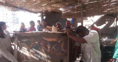 """صور .. حملة مكبرة لرفع إشغالات """"وكالة الخضر والفاكهه """" بالإسكندرية"""