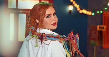 """صور.. رولا سعد تنتهى من تصوير كليب أغنيتها """"دكان شلاطة"""""""