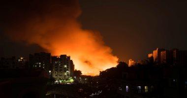 اندلاع حريق في قاعدة جوية بمحافظة صلاح الدين العراقية