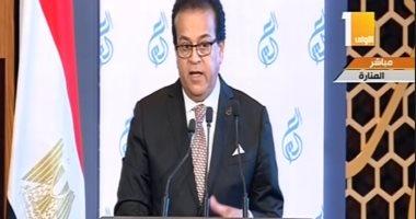 وزير التعليم العالى: ميزانية الوزارة بلغت 43.5 مليار بزيادة 7 مليارات جنيه