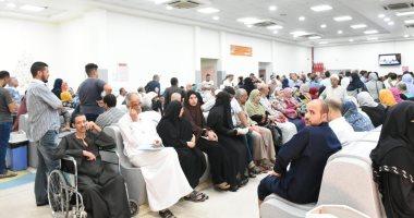 صور.. رئيس جامعة القاهرة: معهد الأورام يستقبل مرضاه بكامل طاقته