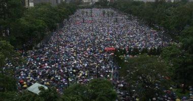 الصين تدعو أعضاء الكونجرس الأمريكى للتوقف عن التدخل فى شئون هونج كونج