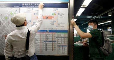حملة نظافة فى هونج كونج بعد احتجاجات حاشدة