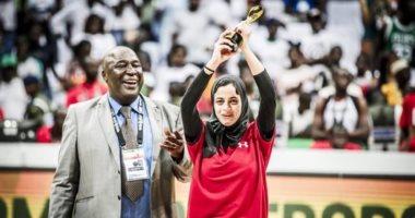 معلومات لا تفوتك عن البطلة المصرية ثريا محمد أفضل هدافة ببطولة أفريقيا للسلة