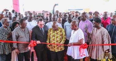 غانا تتسلم واحدة من أضخم مستشفيات أقامتها شركة مصرية