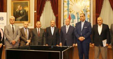 محافظة القاهرة توقع برتوكول تعاون لتقديم الخدمات التمويلية لورش شق الثعبان