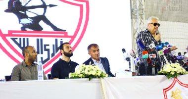 فيديو.. مرتضى منصور لـ ميتشو: اللاعبون هم من أجبرونا على إقالتك