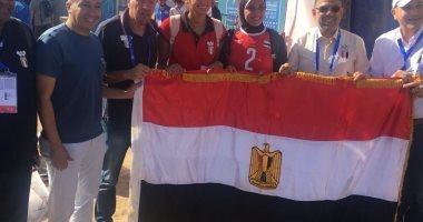 ذهبية جديدة.. سيدات الطائرة الشاطئية بطلات دورة الألعاب الإفريقية