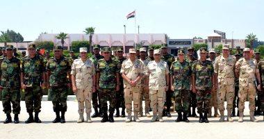 """عناصر من القوات المسلحة تغادر للمشاركة بتدريب """"حماة الصداقة - 4"""" بروسيا"""