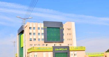 حملات تجميل مستشفى إسنا الجديد وإزالة التعديات حوله قبل افتتاحه × 23 معلومة