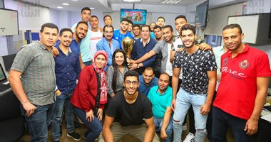 اليوم السابع يحتفى بأبطال العالم لكرة اليد
