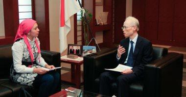 السفير اليابانى بالقاهرة فى حواره مع اليوم السابع
