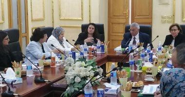 رئيس هيئة التخطيط العمرانى يلتقى مسئولى برنامج الأمم المتحدة للمستوطنات
