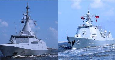 القوات البحرية المصرية والصينية تنفذان تدريبا بحريا عابرا بالبحر المتوسط