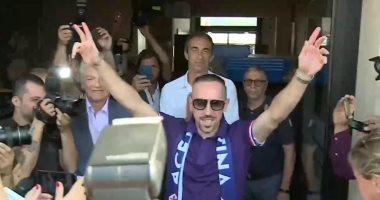 فيورنتينا يجهز ريبيري للمشاركة أساسيًا ضد يوفنتوس في الدوري الإيطالي