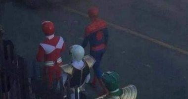 بعد ما ساب مارفل.. Spider Man ينضم لـ فريق Power Rangers