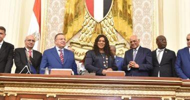 عبدالعال لرئيسة برلمان توجو :الاهتمام بالشباب الأفريقى محور رئيسى للسياسة المصرية