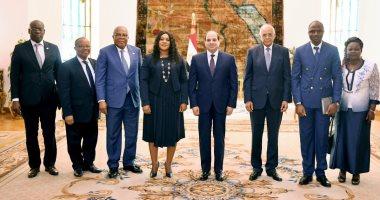 رئيسة برلمان توجو: مصر أصبحت نموذجاً ملهماً لأفريقيا تحت قيادة الرئيس السيسى