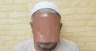 فيديو..لحظة القبض على سفاح السيدات فى بنى سويف بعد قتله 4 مسنات