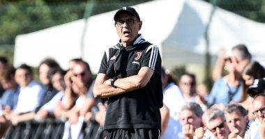 المرض يمنع سارى من قيادة يوفنتوس فى أول مباراتين بالدوري الإيطالي