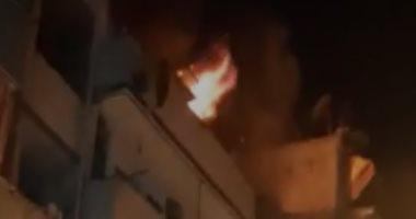 النيابة تأمر بانتداب المعمل الجنائى لمعاينة حريق شقة فى المرج