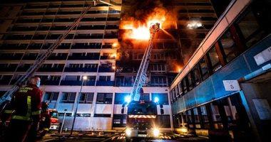 """شاهد.. حريق هائل بمستشفى """"هنرى موندور"""" فى باريس"""