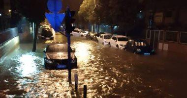 فيضانات وسيول وانهيارات أرضية فى إسبانيا بسبب أكبر أمطار صيفية منذ 160 عاما