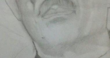 قارئ يشارك بصور لوحات فنية باستخدام القلم الرصاص تبرز موهبته